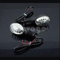 Motosiklet YAMAHA Için Sinyal Gösterge Lambası Çevirin LED XT660 2004-2012 Temizle