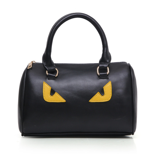 Women Brand Bag Fashion PU Leather Women Leather Handbag Casual Oil Picture Pattern Women Shoulder Bag Fashion Female Tote 5 Set