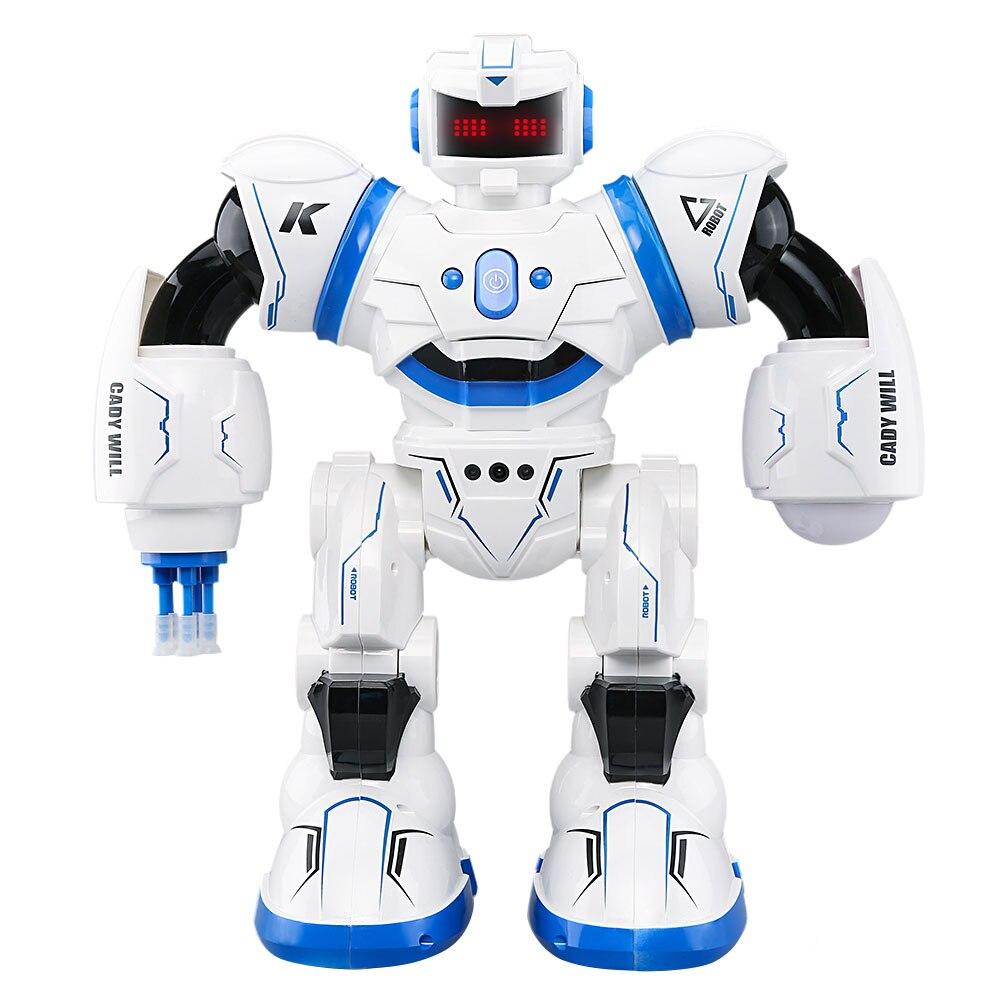 2.4GHz Multi Mode Control Robot Intelligent Gesture Sensor Dancing Singing Laser jjrc r3 rc robot toys intelligent programming dancing gesture sensor control for children kids f22483 f22483