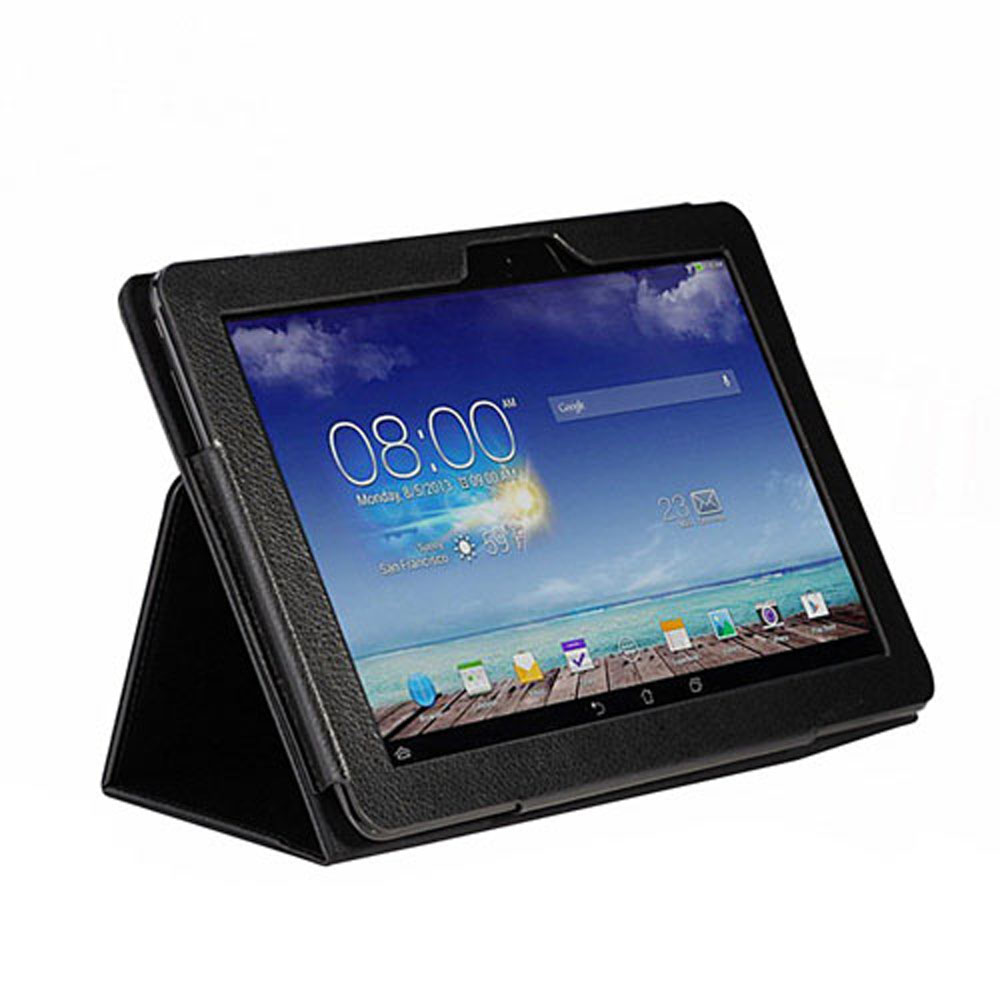 FREE Slim-Book Stand Cover Case for Asus Memo Pad 10 ME102A case Cover with Stylus holder, Automatic Sleep/Wake Tablet