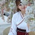 2016 de invierno hermoso muti antiguo traje de hadas hanfu tang chino folk dance traje de cosplay vestido de la danza tradicional china