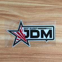 JDM Star eat sleep style Car sticker scratch HellaFlush reflective stickers for honda toyota Mitsubishi nissan accessories
