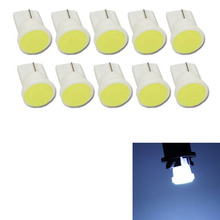 10x Ceramic Car Interior LED T10 COB W5W 168 Wedge Door Instrument Side Bulb Lamp Car Light White/Blue/Green/Red/Yellow Source
