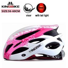 KINGBIKE kaski rower wyścigowy EPS kolarstwo kask aero dorosłych mężczyzn i kobiet kask kolarstwo kobiety x27s mężczyźni mtb kaski rower wyścigowy tanie tanio Formowane integralnie kask 0 23kg 20 J-675CB (Dorośli) mężczyzn bike helmet cycling helmet one piece pink blue green purple