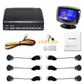 10-Color New Style 6 Sensors Rear/Front Car LCD Monitor Display Parking Reverse Backup Radar #FD-2820