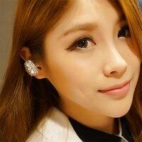 נשים בנות אפרכסת Earhook אוזניות אלחוטי אוזניות Bluetooth אוזניות יהלומים בלינג יוקרה אופנתית עבור כל הטלפון