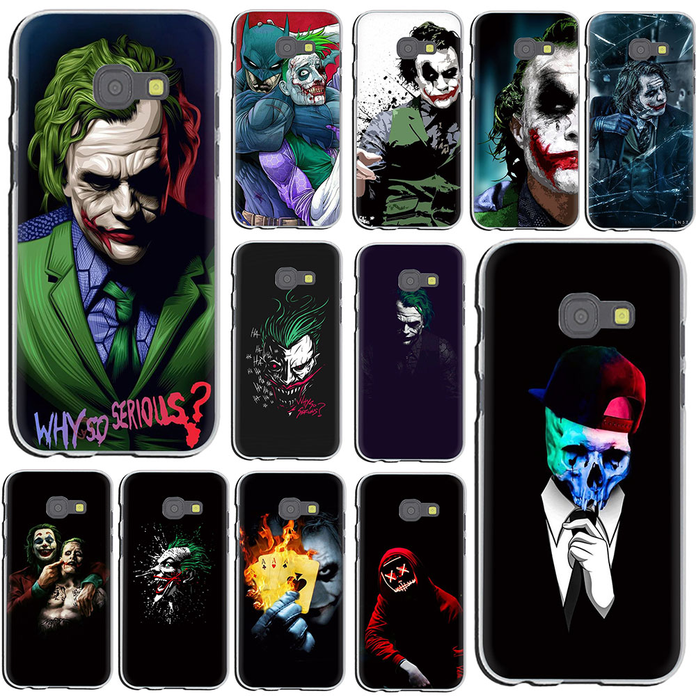 <font><b>Batman</b></font> Dark Knight Joker Karta harte Telefon Fall für <font><b>Galaxy</b></font> J8 J7 Duo J6 <font><b>J5</b></font> J4 J3 J2 J1 Prime plus <font><b>2017</b></font> EU UNS Version 2018 image
