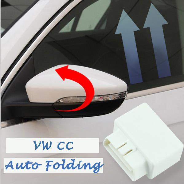 Gateway OBD car window closer glass opening/closing module closer Play Mirror AUTO Folding only fit for VW 2012-2015 Passat CC window closer for porsche cayenne panamera macan auto power car window roll up rearview mirror and remote open trunk
