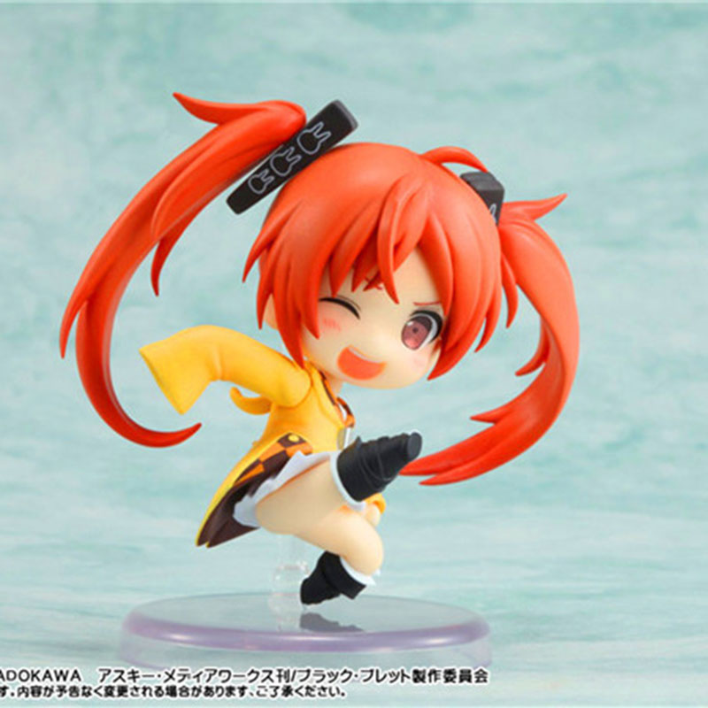 Anime Hatsune Miku Nendoroid Dark bullet Hatsune Miku PVC Action Figure Collectible Model Toys for gift
