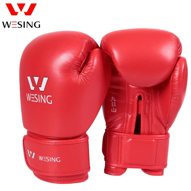 Wesing Thickened Boxing Rękawice sparingowe Rękawice z jednym palcem Rękawice treningowe dla MMA Muay Thai Rękawice treningowe dla mężczyzn