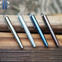 Original Titanium Tactical Pen Defense Survival Self-defense Portable Multi-function Broken Window Writing