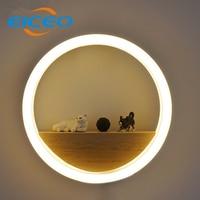(EICEO) New LED Aluminum Acrylic LED Wall Lamp Wholesale Sitting Room Background Wall Adornment Lanterns Corridor Lamps Light