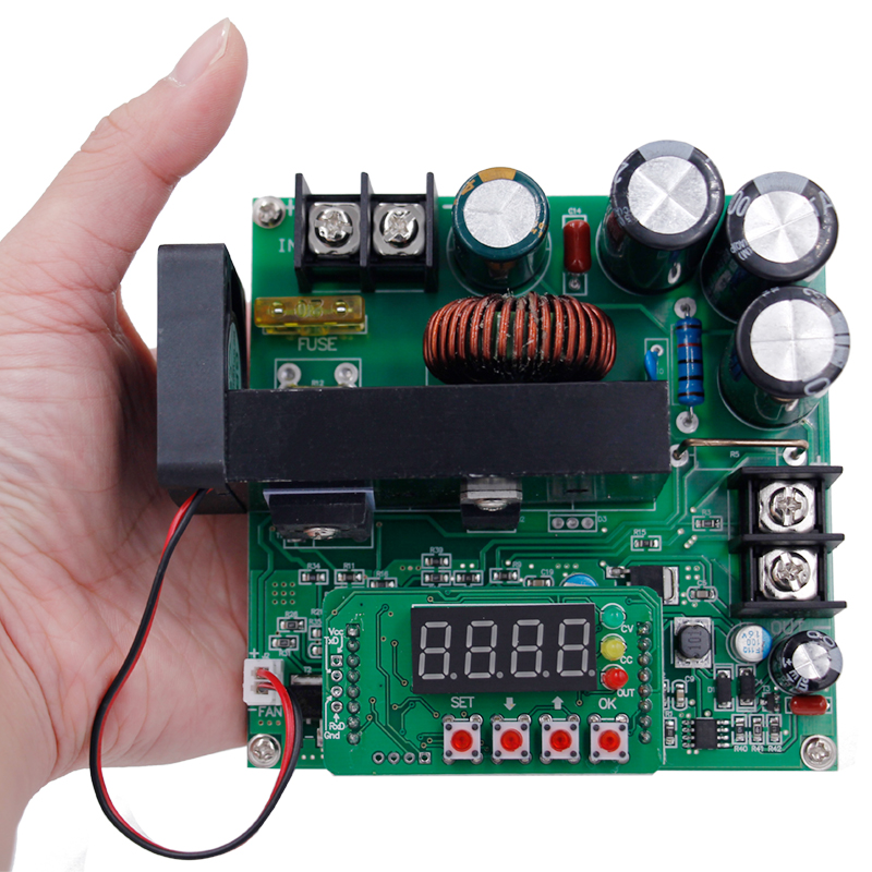 B900W High Precise LED NC DC constant current power supply voltage adjustable boost module Ammeter 120V15A charger 30%off zxy6005s nc voltmeter ammeter constant voltage current dc dc power supply module with heat sink 0 60v 0 5a