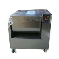 100L коммерческих Нержавеющаясталь мясорубку, миксер, смеситель для продажи, мясо тестомесильная машина