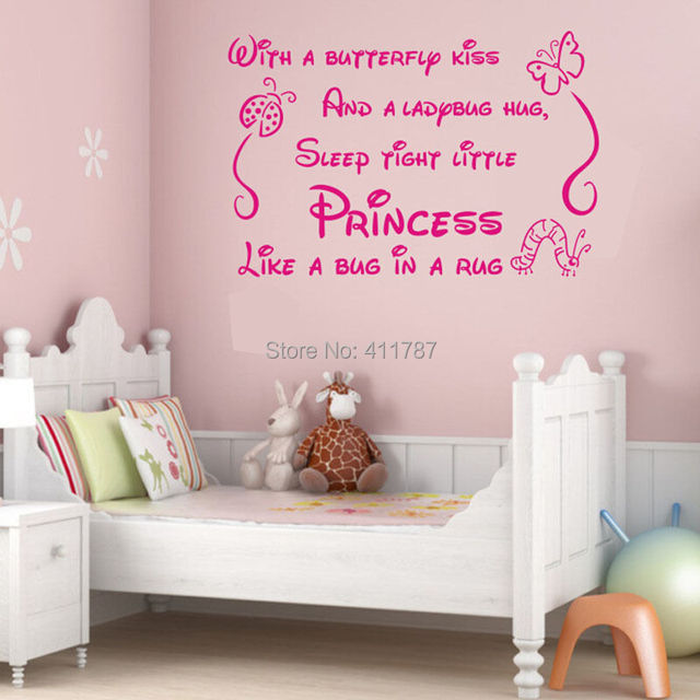 A Little Princess Nursery Design: Free Shipping New Cool Princess Quote Lettering Saying