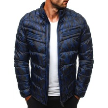ZOGAA HOT Winter WARM Jackets Men 2019 Casual Mens and Coats Solid Parka Outwear Plus Size 3XL Jacket Male Clothing