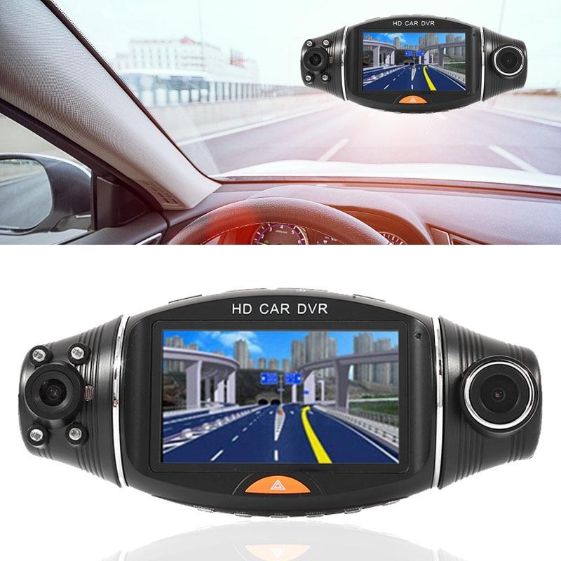VEHEMO 2.7 IR Car DVR Camera Camcorder Night Vision G-Sensor Driving Recorder Car Camera Dash Cam Parking Monitor Support GPS