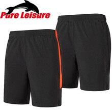 PureLeisure мужские и женские летние быстросохнущие дышащие шорты, уличная спортивная одежда для бега, рыбалки, велоспорта, кемпинга, черные брюки