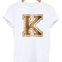 2b2cea03d6a12a K Leopard Top T Shirt Graphic Logo drukowany tekst Hipster Tumblr sklep  Apparell 100% bawełna