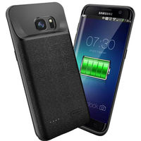 4700mAh Battery Charger Case For Samsung Galaxy S7 Silm Silicone shockproof power bank Case For Samsung S7 Charger Back Cover