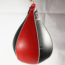 JUFIT Boxing Ball Pear PU Sport Speed Punch Fitness Training
