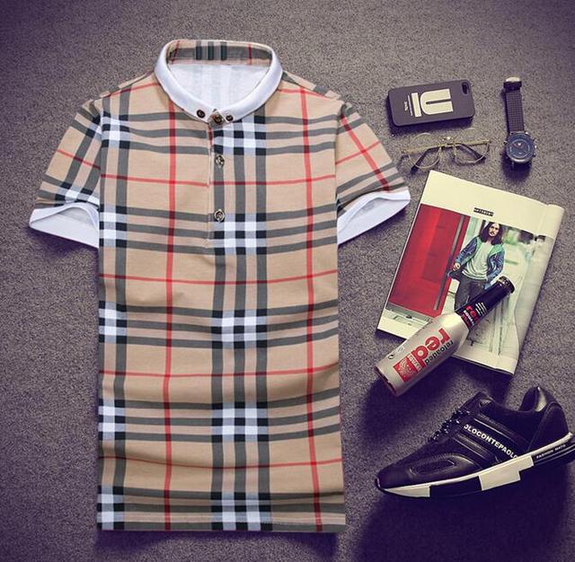 Лето Mens Вскользь Polo Рубашки Люксовые Бренды Одежда С Коротким Рукавом мужская Тонкий Одежда Homme POLO