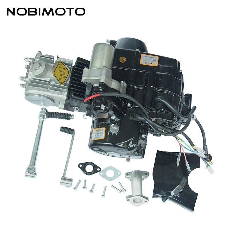 Mini vélo de saleté 110cc moteur de démarrage à pied électrique haute Performance moteurs de moto en aluminium pour Mini vélo de saleté FDJ-006