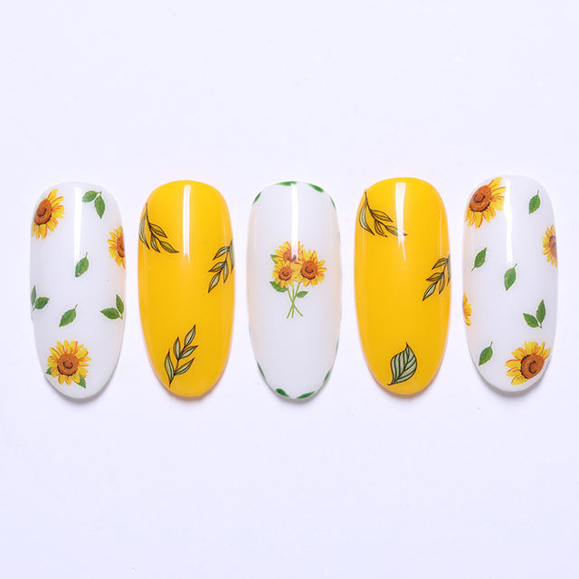 3D Nail Sticker Adhesive Water Transfer