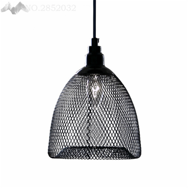 cage pendant lighting. LFH Vintage Metal Cage Pendant Lamps Iron Net Artpendant Lights Antique Industrial Lighting Lampshade For
