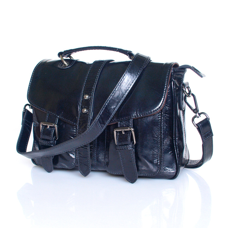 2016 Fashion Shoulder Bag for Women Luxury Genuine Leather Handbag Vintage Women Bag Simple Messenger Bags Bolsas Feminina 2016 new arrival women handbag genuine leather crocodile bag famous brand fashion women messenger bag bolsas feminina wnb075