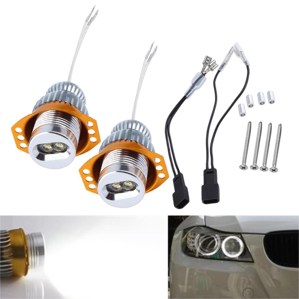 2X10W Error Free H8 LED Angel Eyes for BMW E90 E92 E93 M3 LCI E70 X5 E84 X1 E89 Z4 E81 E82 E87 E88 X6 X6M X5M E60 LCI 5-Series