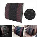 Electric massage Lumbar Cushion For Car Memory Foam Office Seat Support Rest Back Pillow Chair Waist Sofa Cushion Support