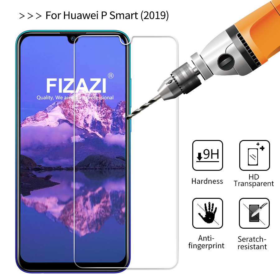 Fizazi 2.5D 9H Tempered Glass For Huawei P Good 2019 Display screen Protector On Telephone Protecting For Huawei P Good 2019 Glass