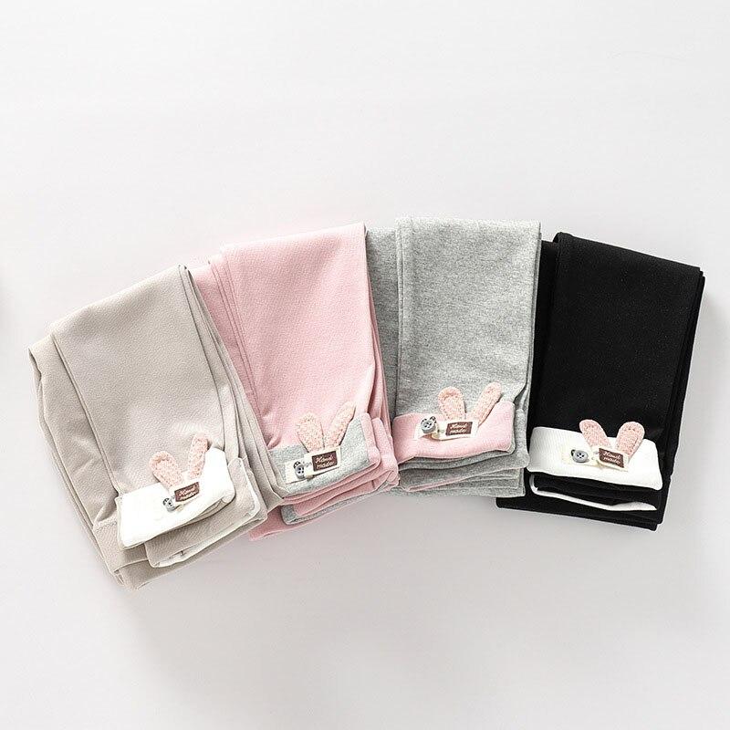 2019 New Children Girl Leggings Baby Girl Clothes Pencil Pants Cartoon Rabbit Cotton Kids Trousers Children Leggings For Girls in Pants from Mother Kids