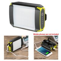 Power Bank ABS Portable Hanging Mobile Waterproof Tent Light Camping USB Port 30 LEDs Flashlight Outdoor Battery Powered Hook