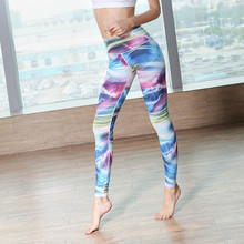 Yoga Pants Sport 2017 New Women Fitness Night Running Sportswear Tights Quick Drying Compression Trousers Gym