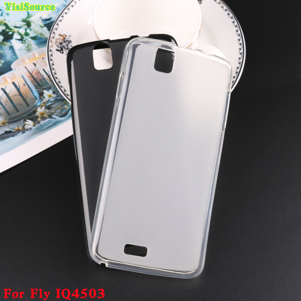 Pudding Phone Case For Fly IQ4503 Quad Era Life 6 Phone Pudding Cover For Fly IQ4503 Soft TPU Slicone Matte Case For Fly IQ4503