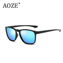 AOZEC fashion Polarized Lens Brand Designer Sunglasses Men Women Vintage Sun Glasses trend driving sunglasses  0916