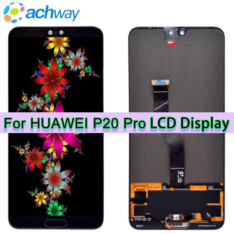 Nouveau Test D'origine 6.1 LCD Huawei P20 Pro Écran lcd Écran Tactile Digitizer Assemblée Panel P20 Pro CLT-AL01 Lcd p20 Plus Affichage