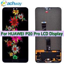 Тесты новый оригинальный 6,1 «ЖК-дисплей huawei P20 Pro ЖК-дисплей Экран дисплея Touch Панель планшета Ассамблеи P20 Pro CLT-AL01 ЖК-дисплей P20 плюс Дисплей