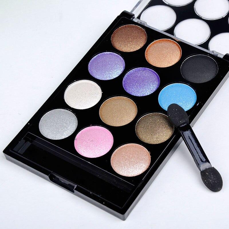12 Colors Eyeshadow Palette Professional Salon Wedding Parties Fashion Women Beauty Accessories ...