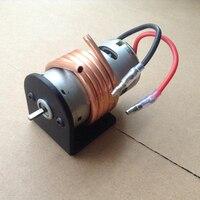 High Speed 550 Motor Kit D Type Shaft Motor Alloy Bracket Copper Water Cooling Cover Set