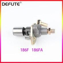 Дизельный двигатель 165F 170F 178F 186F 186FA 188F 186F Топливная форсунка топливный насос в сборе
