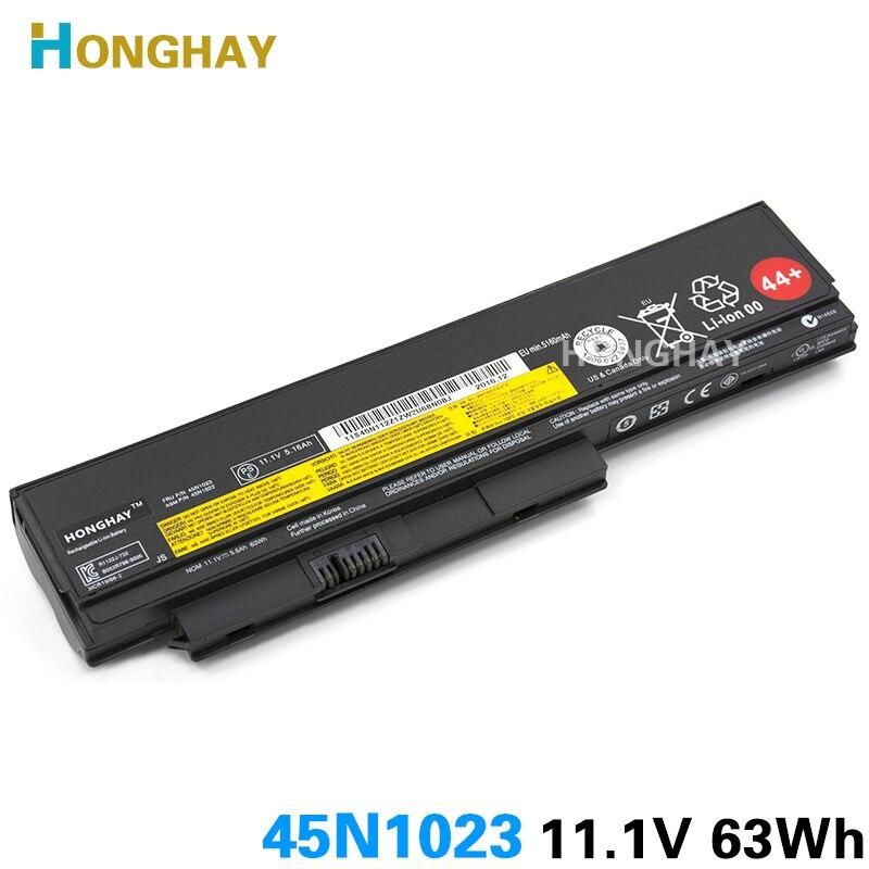 63wh nouvelle batterie d'ordinateur portable d'origine pour lenovo thinkpad x220 x220i x220s x230 x230i 45n1023 45n1022 45n1019 42t4901 0a36307 45n1029