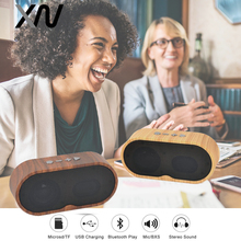ФОТО xiaowu f3 portable wireless bluetooth4.2 hands free speakers subwoofer loudspeakers audio for phone with hd mic tf usb fm