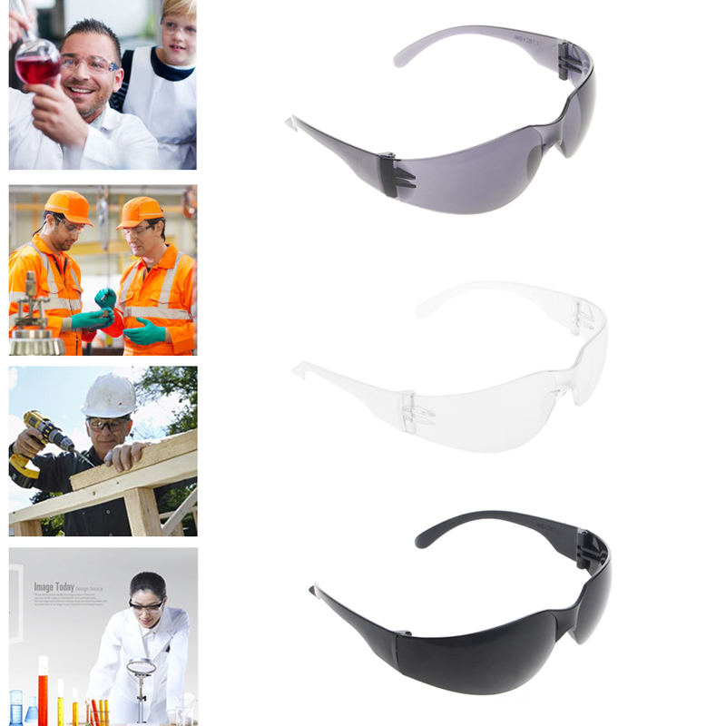 Protective Safety Glasses Eye Protection Goggles Eyewear Dental Lab Work PC Lens