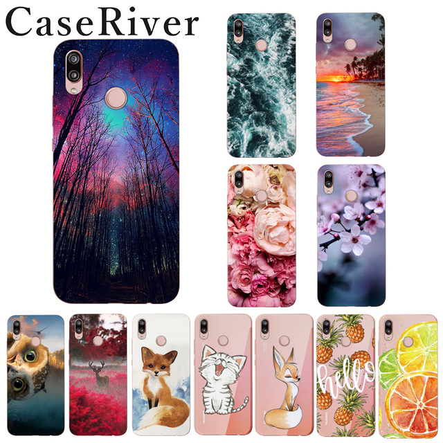 info for 9a98c c4fb1 US $0.96 20% OFF|Caseriver Huawei P20 Lite Case Cover Huawei P20lite  Painting Soft Silicone Phone Back Cover Case For Huawei Nova 3e Bag Case-in  ...