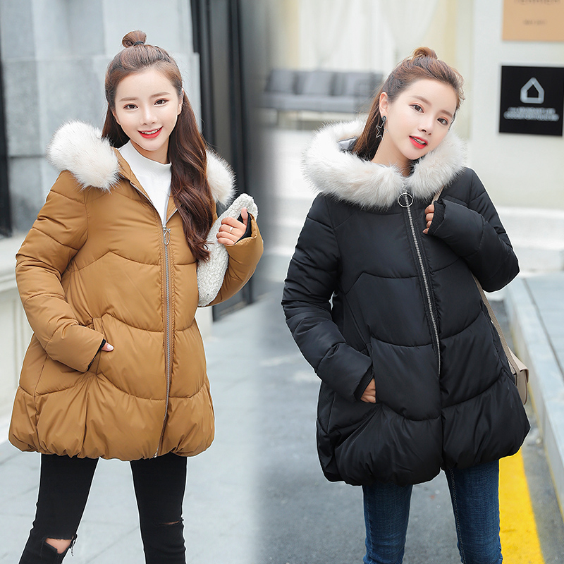 New Winter Women Jacket Outerwear Parkas Warm Jacket Maternity Down Jacket Pregnant Clothing Winter Warm Clothing 16956 Coats