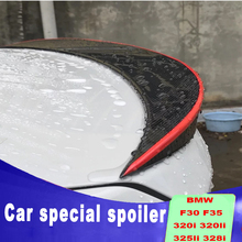 carbon fiber New design 2013 to up for BMW F30 F35 Performance Style wing spoiler 320i 320li 325li 328i