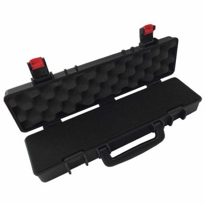 Instrument Box Plastik Portabel Toolbox Perlindungan Keselamatan Koper Tahan Air Kotak Alat Impact Resistant Safety Case dengan Spons